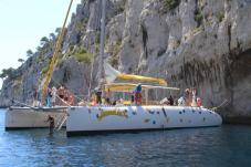 Calanques aboard a Private Boat!