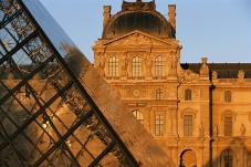 Louvre Museum after opening hours!